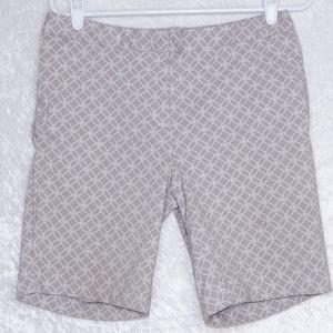 Mario Serrano Tummy Control Bermuda Shorts sz 8
